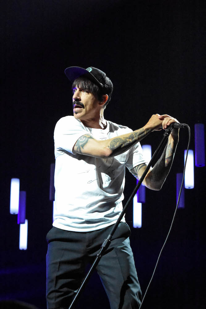 Überzeugt mit seinem Gesang: Anthony Kiedis.