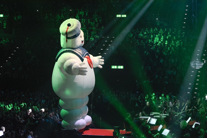 Bei «Ghostbusters» gibt es Unterstützung vom Marshmallow Man aus dem Film.