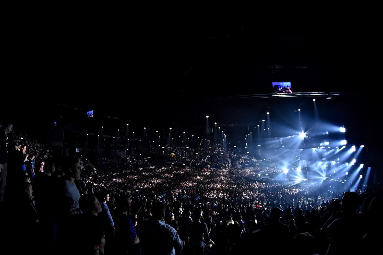 Die Lichter leuchteten mächtig ...