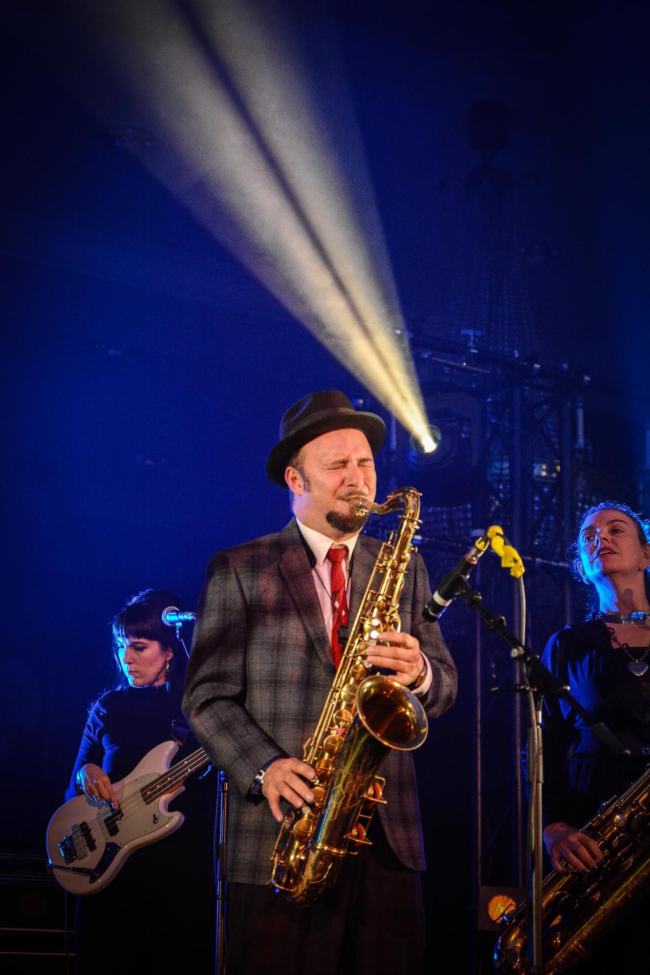 Sax bei Nick Waterhouse