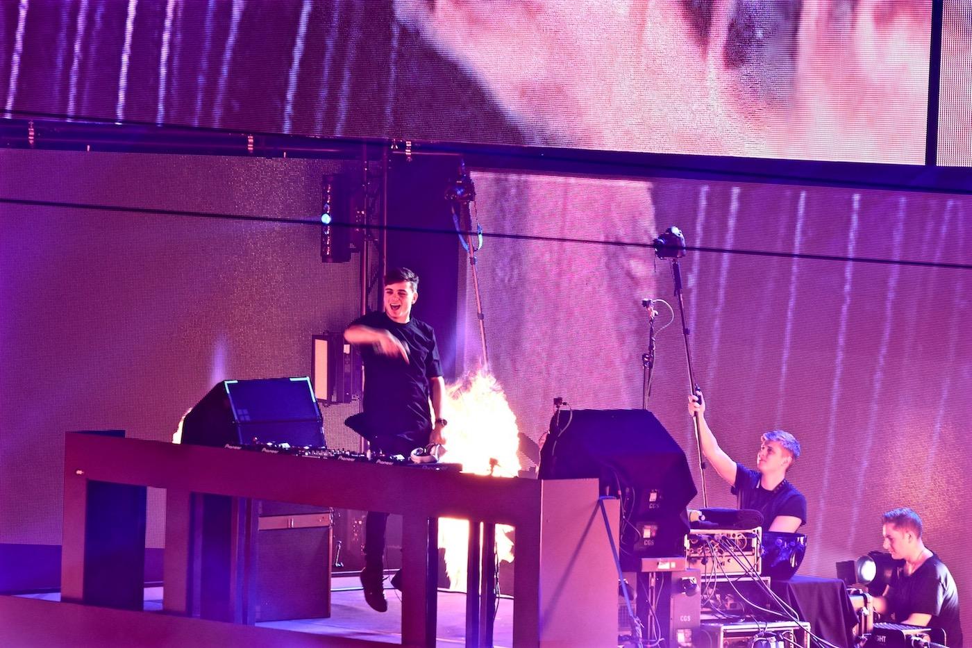 Martin Garrix war der Headliner des Abends.