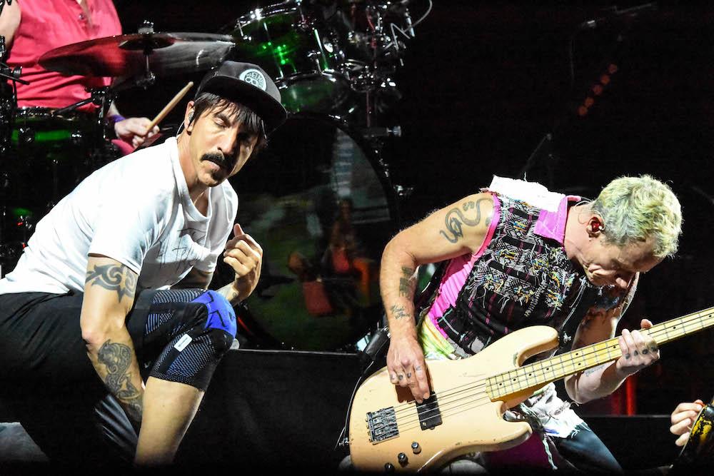 Kiedis und «Flea»