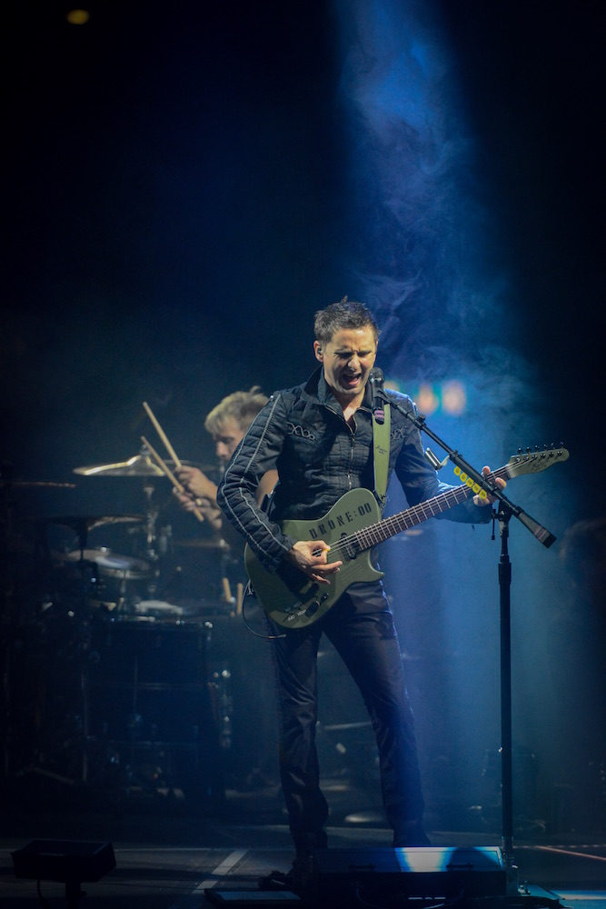 Matthew Bellamy, Frontmann von Muse.
