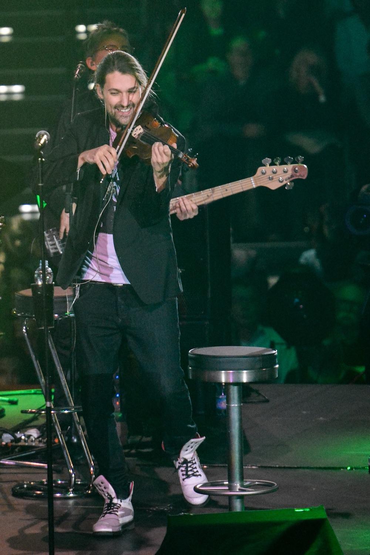 David Garrett liebt sein Instrument.