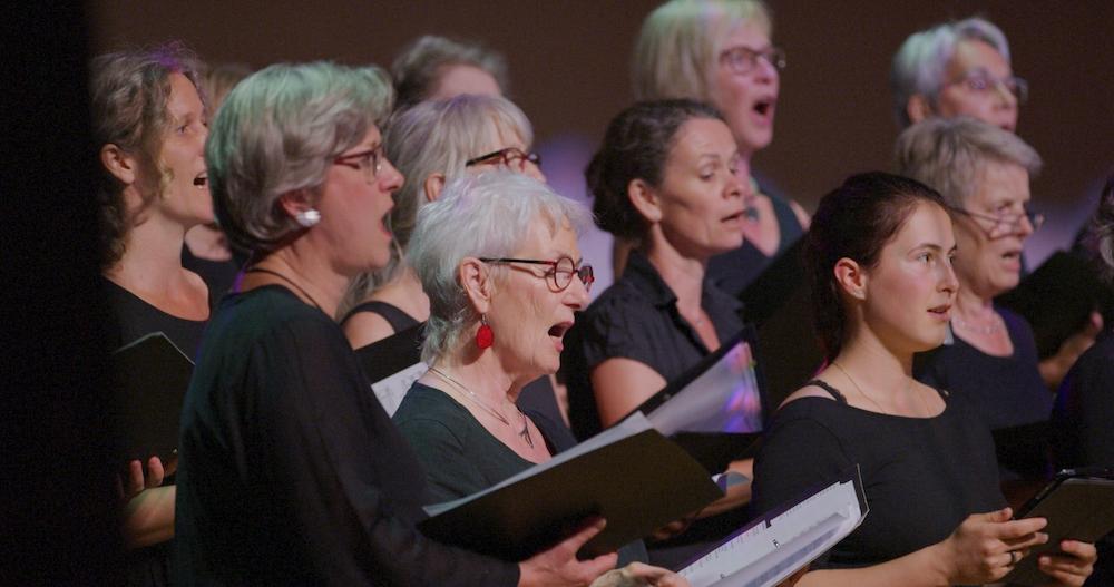 Der Cantabile Chor.
