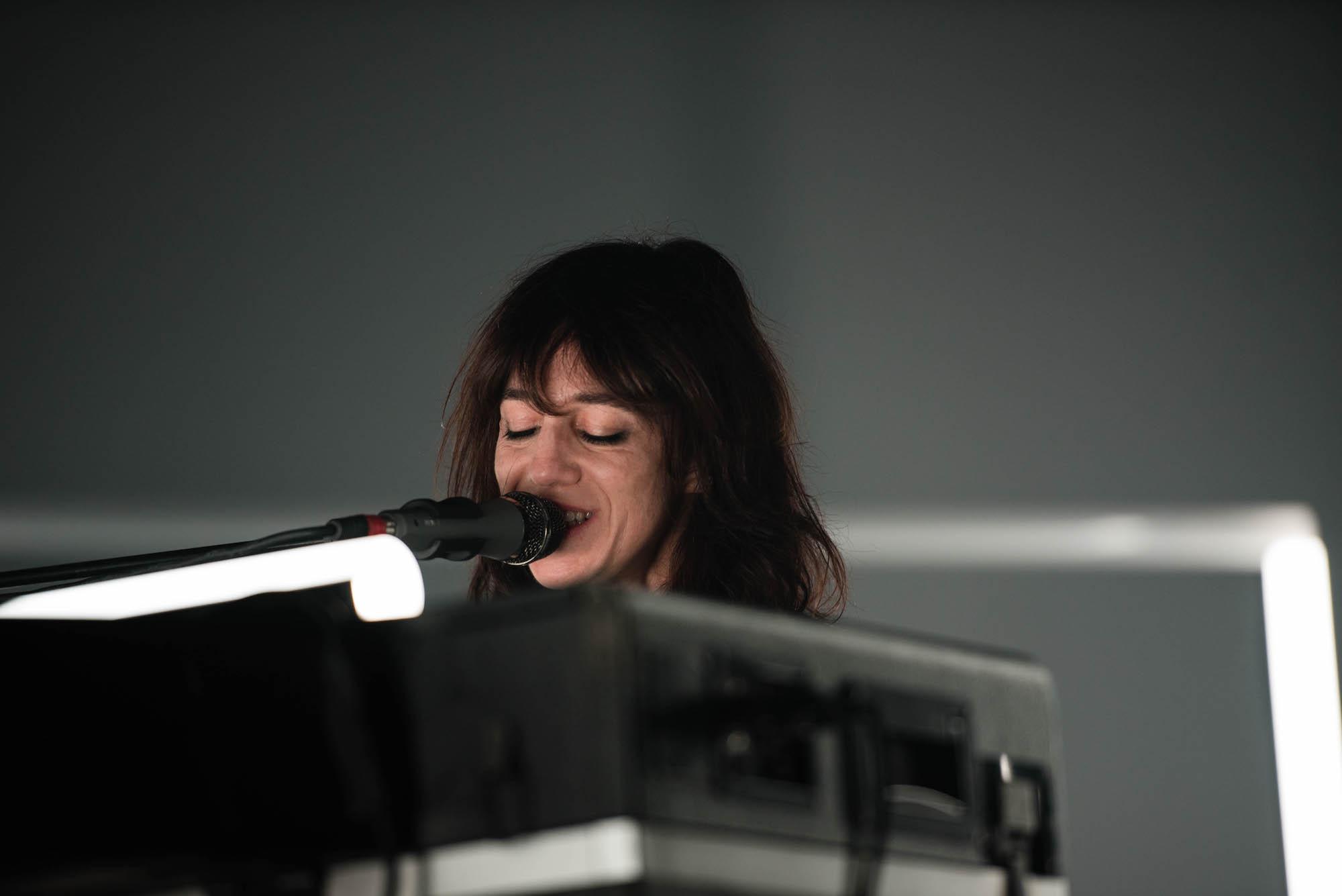 Die französische Sängerin Charlotte Gainsbourg.