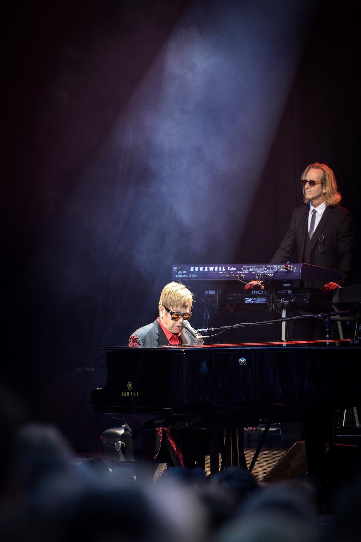 Elton John in einem ruhigen Moment.