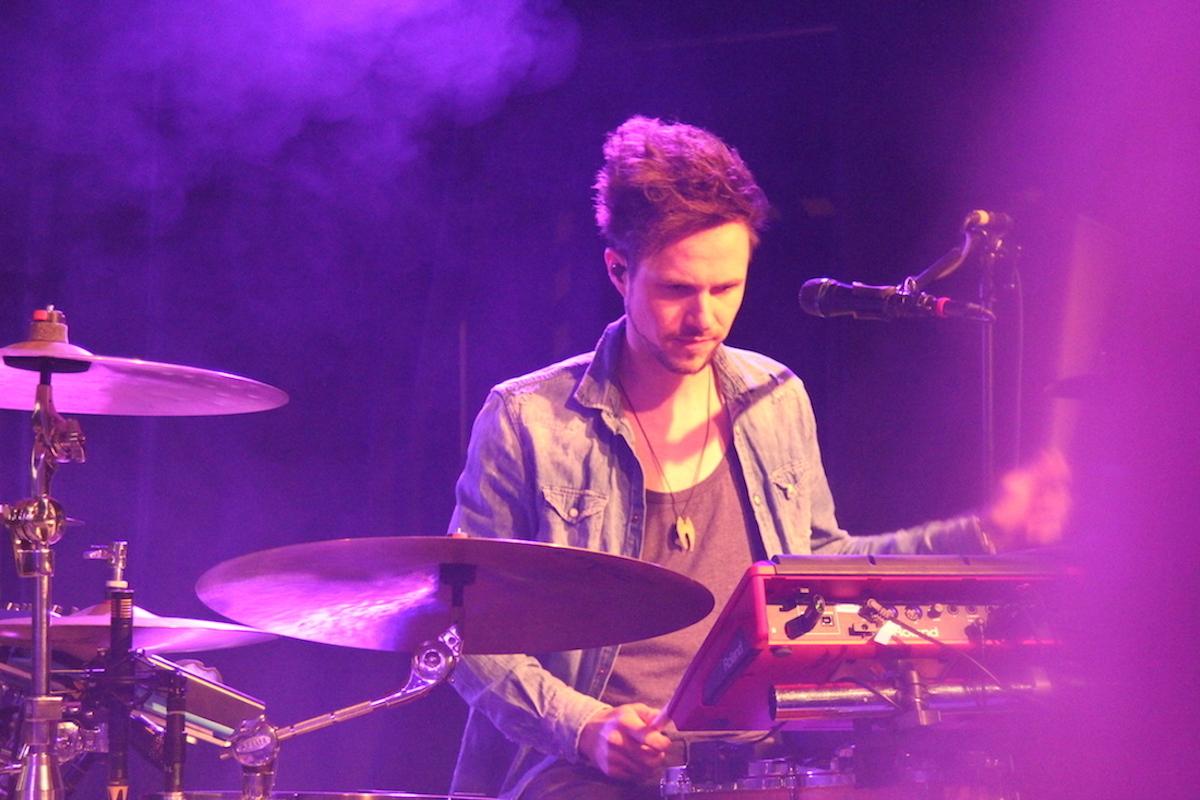 Marcel Munz am Schlagzeug sorgte für den Rhythmus.