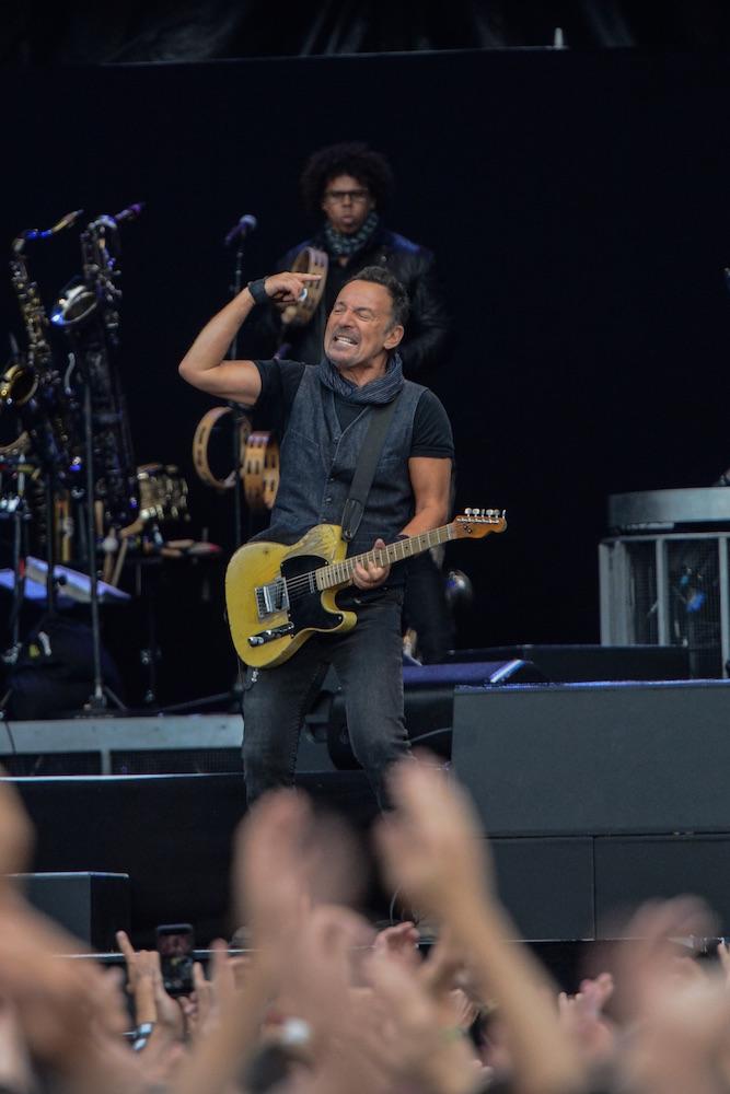 Leidenschaft sieht genau so aus: Bruce Springsteen.