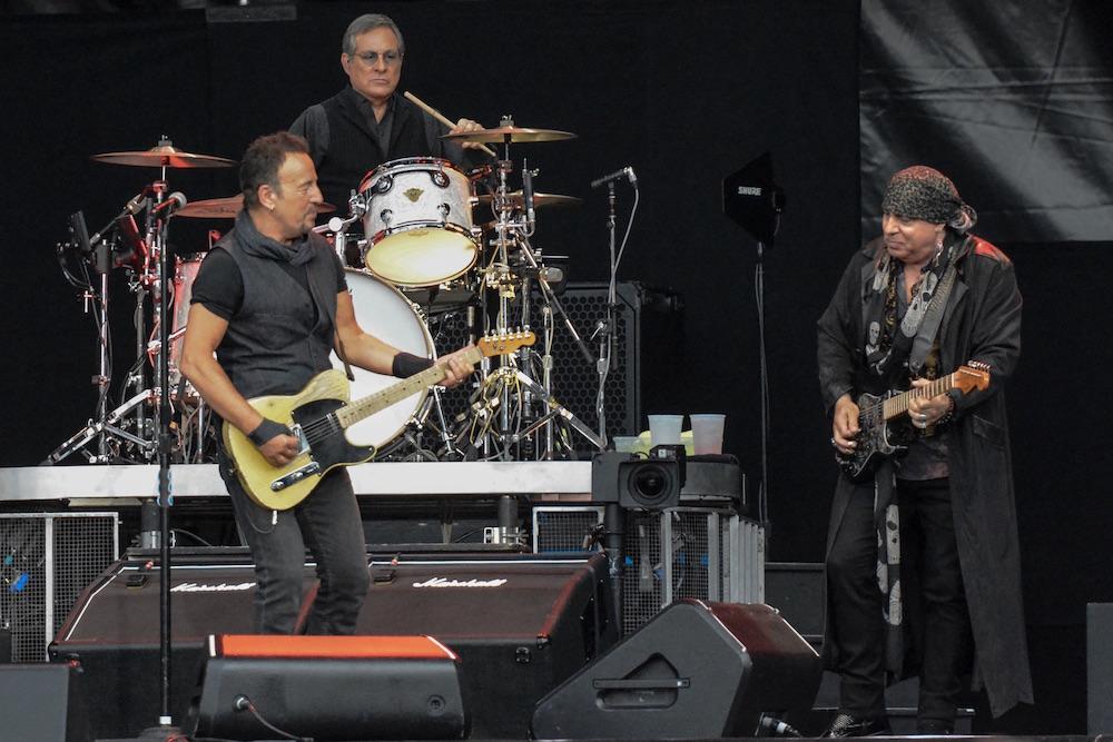 Zwei alte Freunde. Springsteen im Duell mit Steven Van Zandt.