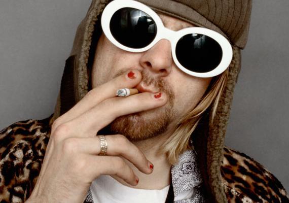 Kurt Cobain fotografiert von Jesse Frohman
