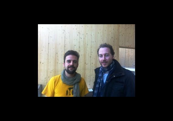 Philippe Kummer und David Schneebeli
