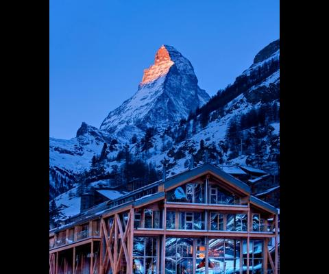 Das Hotel Backstage in Zermatt
