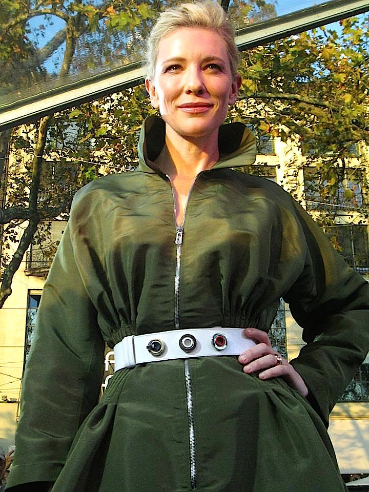 Cate Blanchett ist als Markenbotschafterin nach Zürich gekommen.