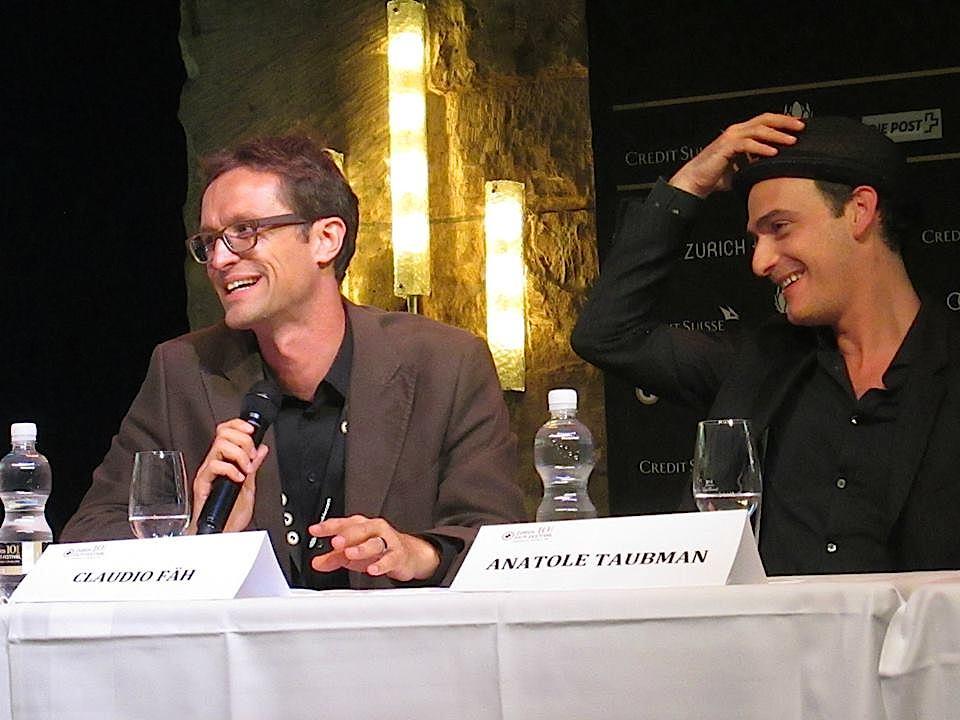 """Der Cast von """"Northmen"""" mit dem Schweizer Anatole Taubman (rechts)."""