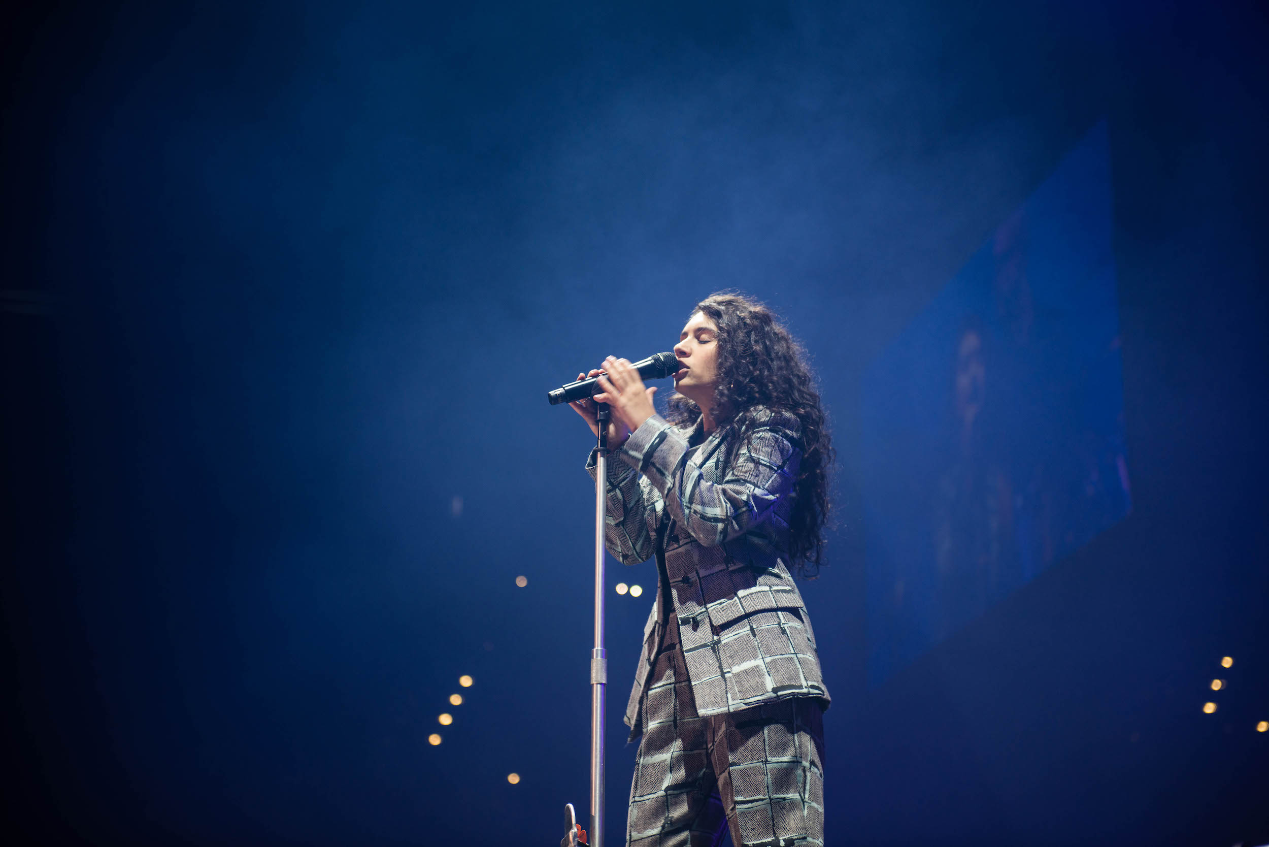 Den Support übernahm Shooting Star Alessia Cara.