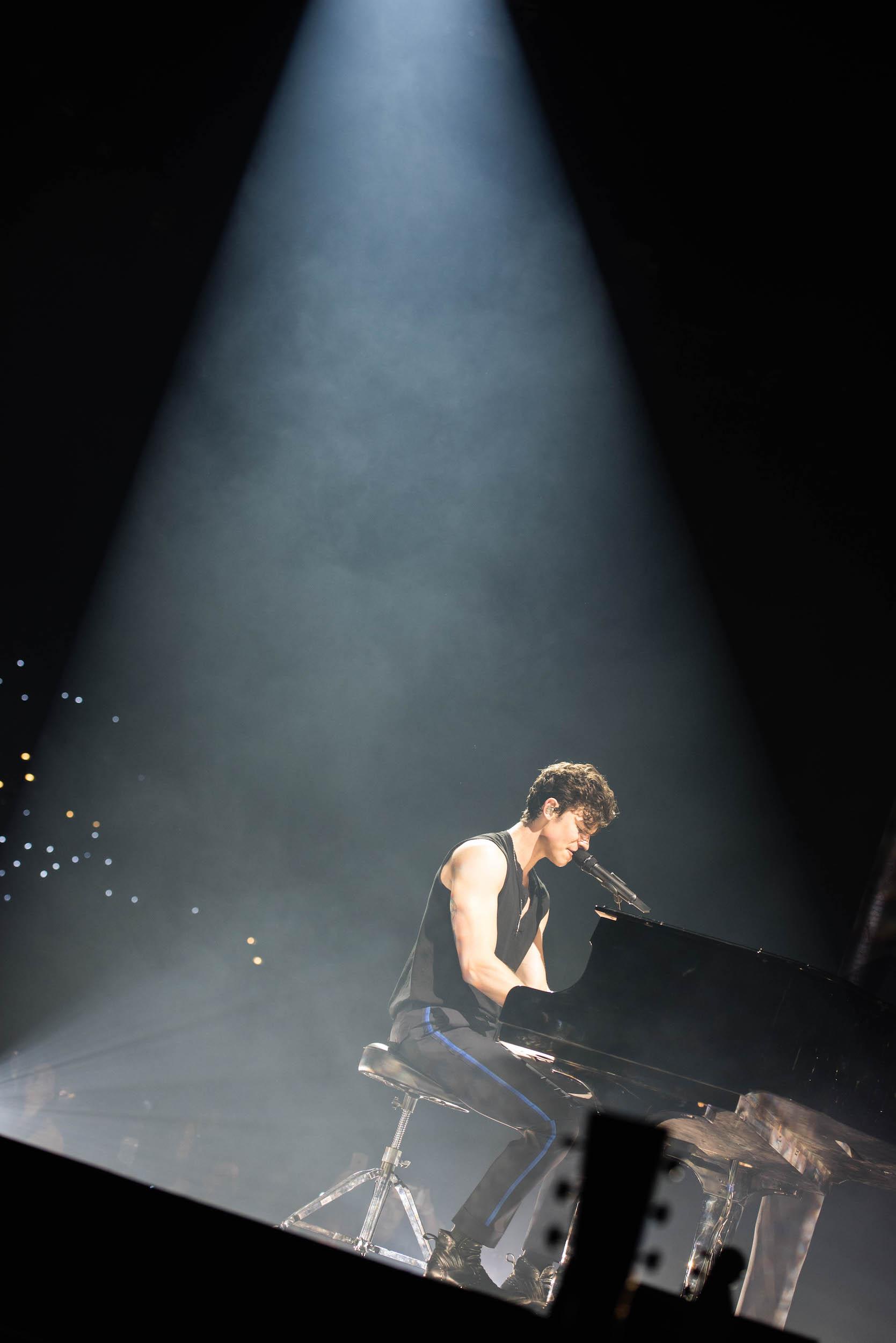 Shawn Mendes am Klavier, ...