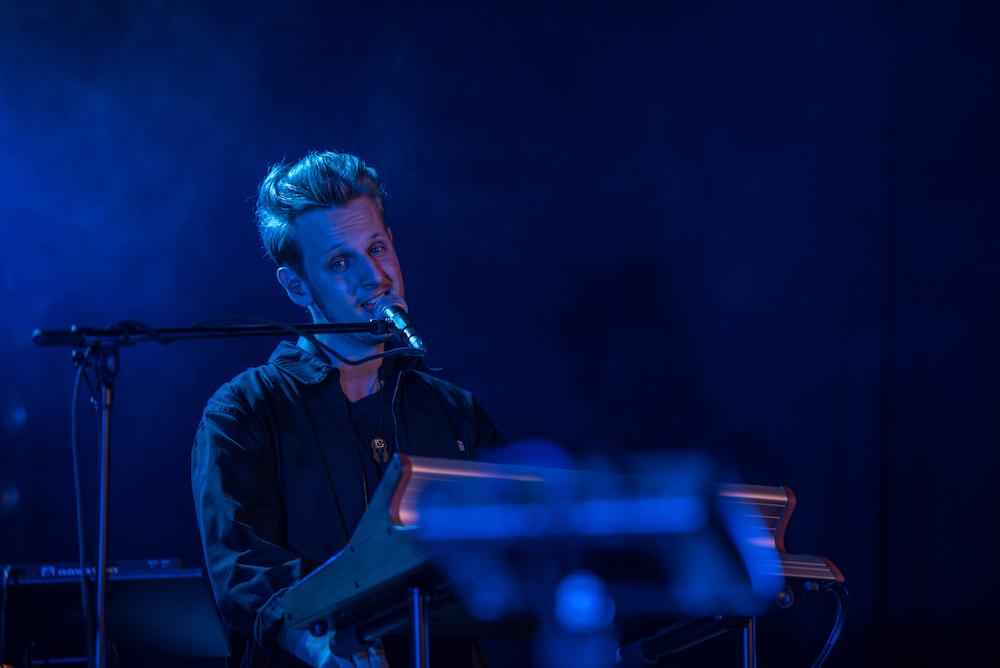 Keyboarder Nicola.