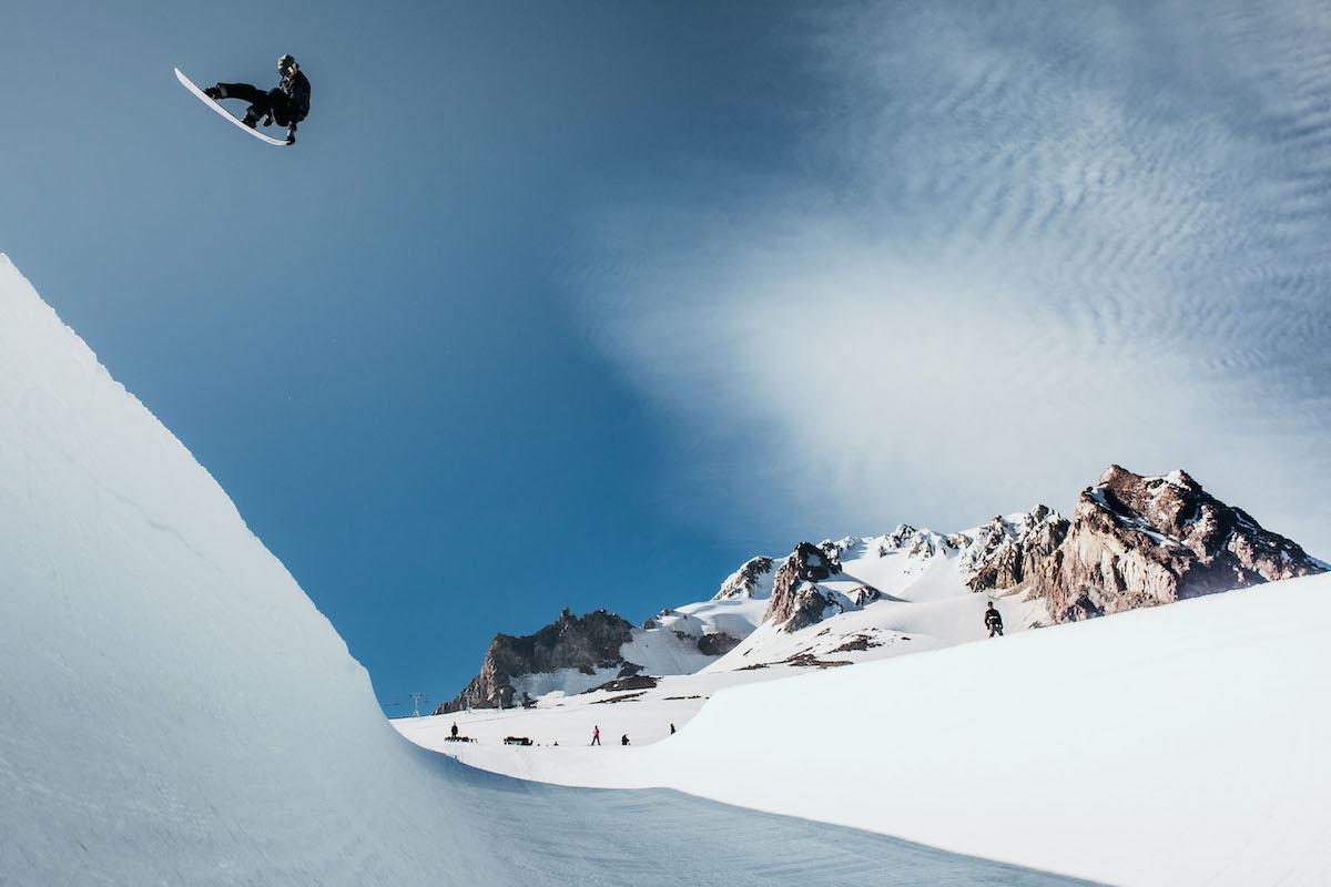 Wenn Snowboarder Ben Ferguson schwerelos scheint ... (© OR Blatt)
