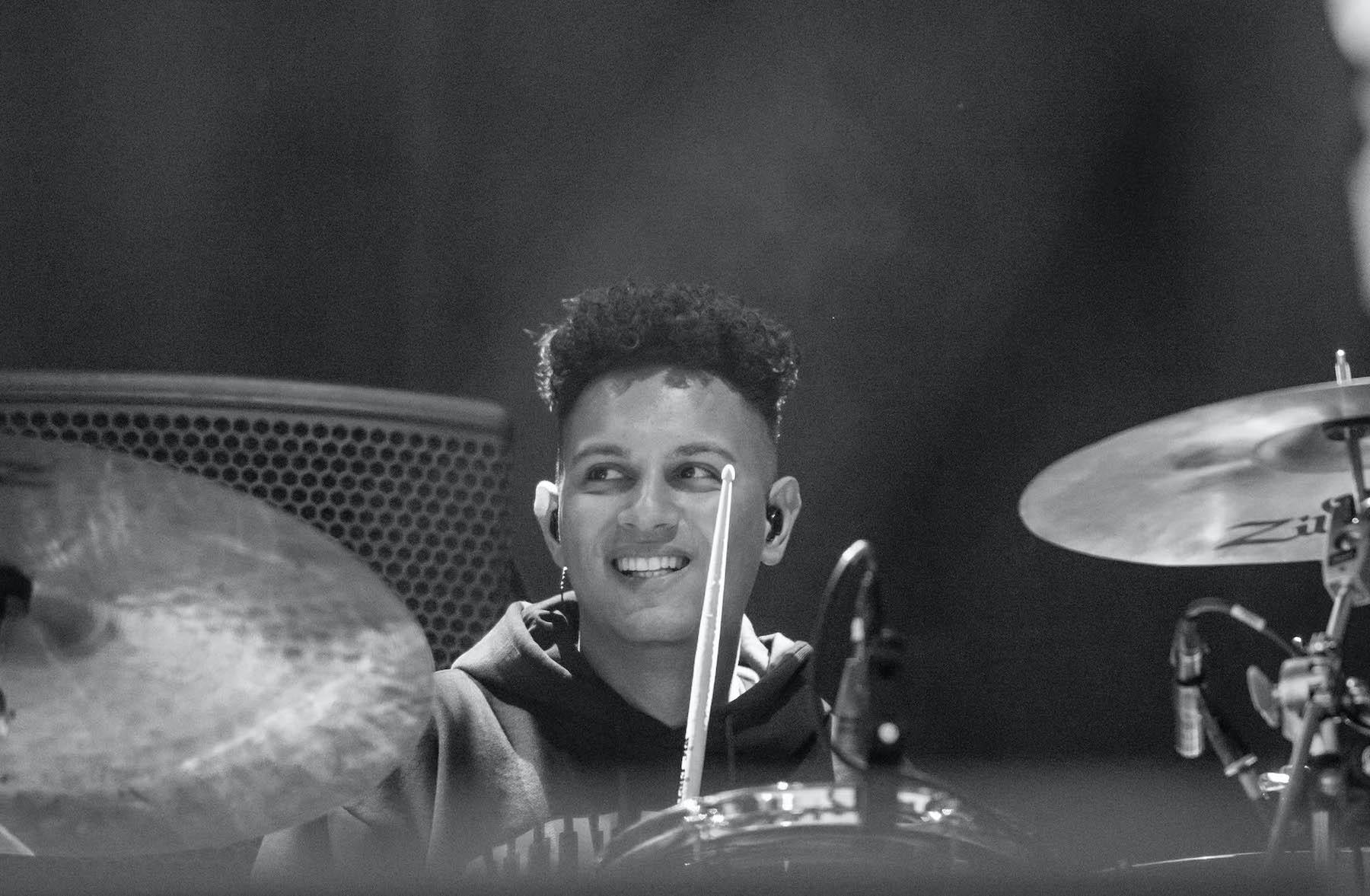 Drummer von Candy Dulfer