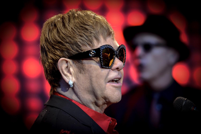 Immer ein Lächeln im Gesicht, Sir Elton John.
