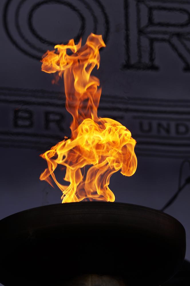 Das Feuer von Saltatio Mortis.