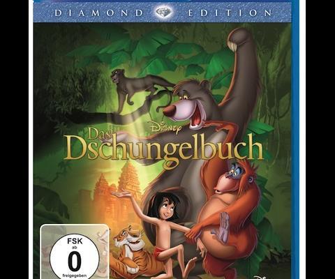 Mogli und Co. auf Blu-Ray